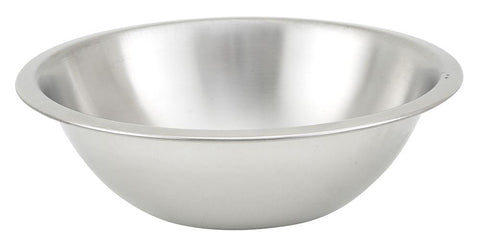 Stainless Steel Shallow Mixing Bowl