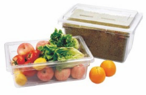 Clear Polycarbonate Heavy Duty Food Storage Container (6.6L-83L), Lids Sold Separately