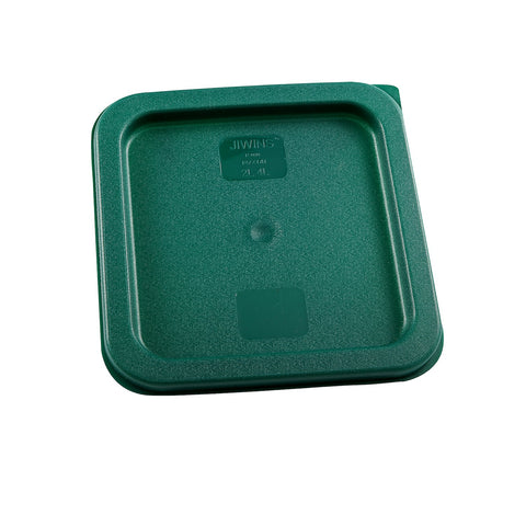 White Polypropylene Square Food Storage Lid