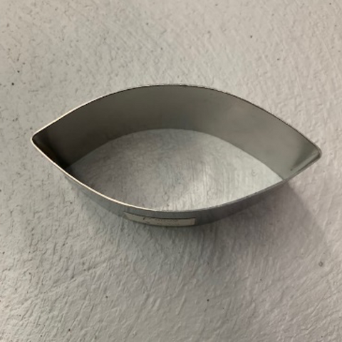 Oval Shaped Ring Mold/Mousse Ring