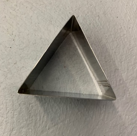 Triangle Shaped Ring Mold/Mousse Ring