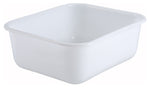 White Polypropylene Mini Bin & Lid