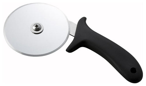 "Round 4"" Diameter Pizza Cutter with Polypropylene Handle"