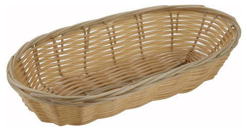 Woven Oval Serving Basket