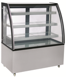 3-Tiered Curved Bakery Display Case