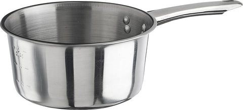 Stainless Steel Sauce Pan with Mirror Finish