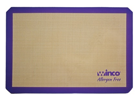 Purple Silicone Non-Stick Baking Mat (Half Size, Two-Thirds Size, and Full Size)