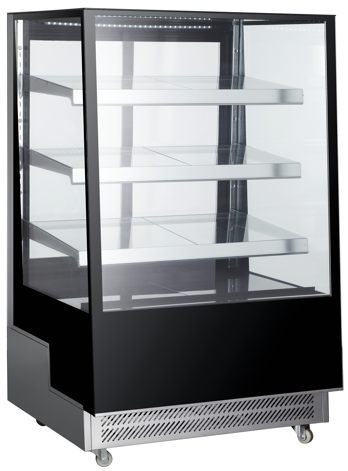 "48"" 3-Tiered Bakery Display Case"