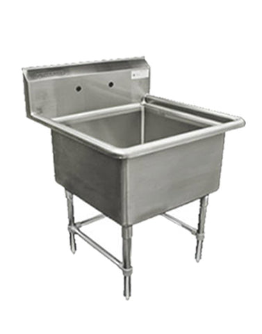 Stainless Steel 1 Compartment Commercial Sink