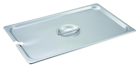 Stainless Steel Notched Steam Table Pan Lid