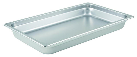Stainless Steel 23 Gauge Anti-Jam Full Size Steam Table Pan