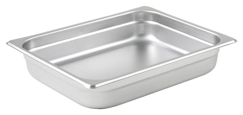 Stainless Steel 23 Gauge Anti-Jam Half Size Steam Table Pan