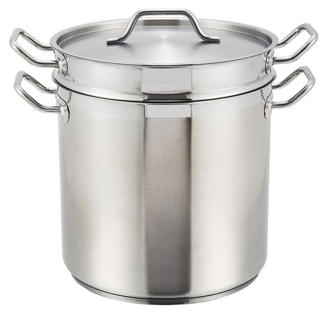 Stainless Steel Steamer/Pasta Pot with Lid
