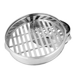Stainless Steel Round Steamer (40cm-60cm Diameter)