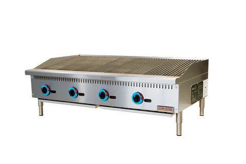 "Top Cater 48"" Natural Gas Charbroiler"