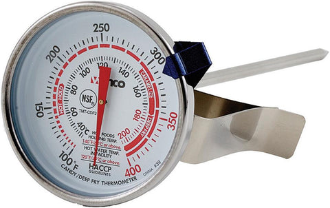 "Deepfry/Candy 2"" Dial Thermometer with 5"" Probe"