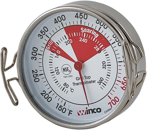 "Grill Surface Thermometer with 2.2"" Dial"