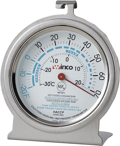 "Freezer/Refrigerator 3"" Dial Thermometer"