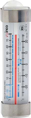 "Freezer/Refrigerator 3.5"" Thermometer with Suction Cup"