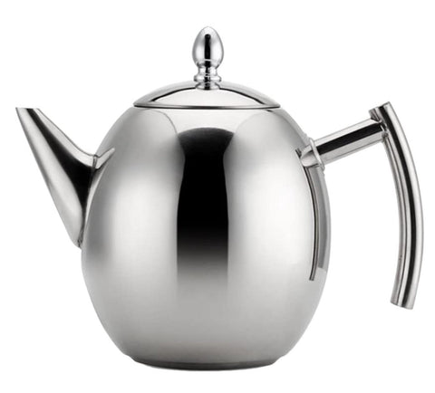 Stainless Steel Teapot (1-1.5L)