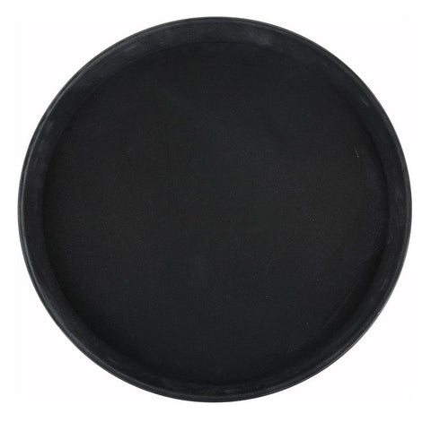Easy Hold Rubber Lined Fiberglass Round Tray