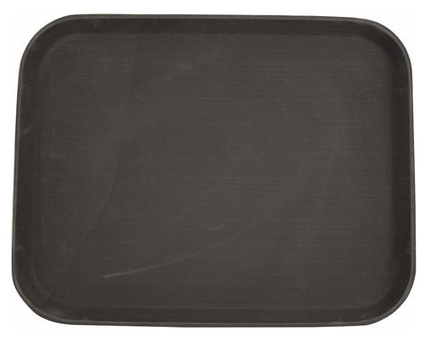 Easy Hold Rubber Lined Rectangular Plastic Tray