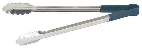 "Stainless Steel 16"" Tongs with Polypropylene Handle"