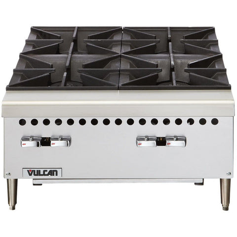 "Vulcan 24"" 4 Burner Gas Hotplate"