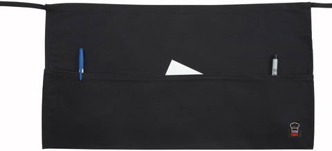 Waist Apron with 3 Pockets