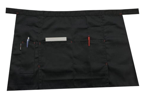 Chefco Waist Apron with 3 Pockets