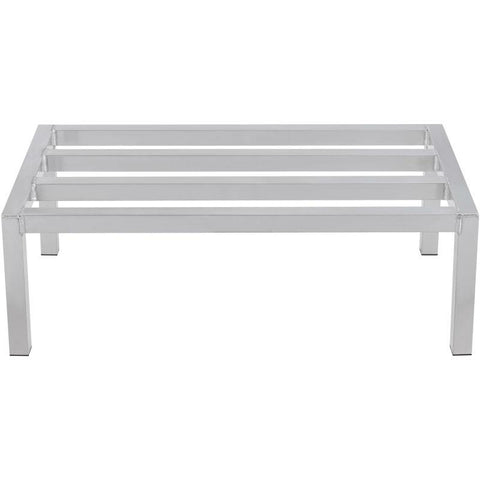 "Metal 304 Aluminum Dunnage Rack 8"" Depth"