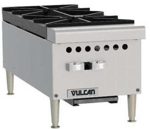 "Vulcan 12"" 2 Burner Gas Hotplate"