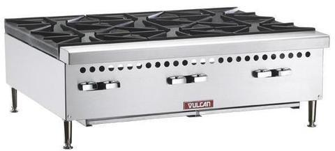 "Vulcan 36"" 6 Burner Gas Hotplate"
