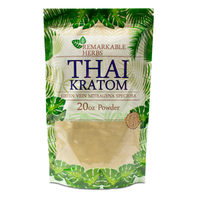 REMARKABLE KRATOM POWDER - THAI