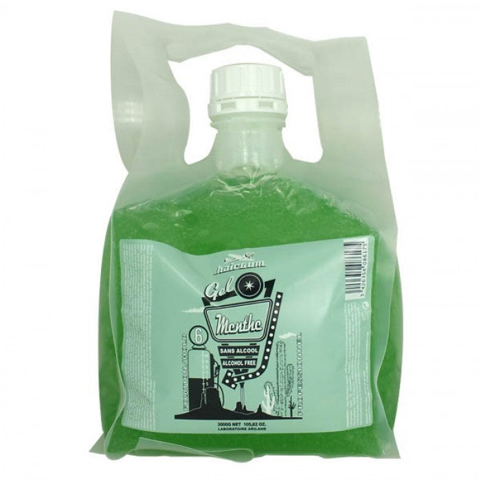 GEL MENTHE (Alcohol Free) 6 3KL - Crazy Beauty Shop