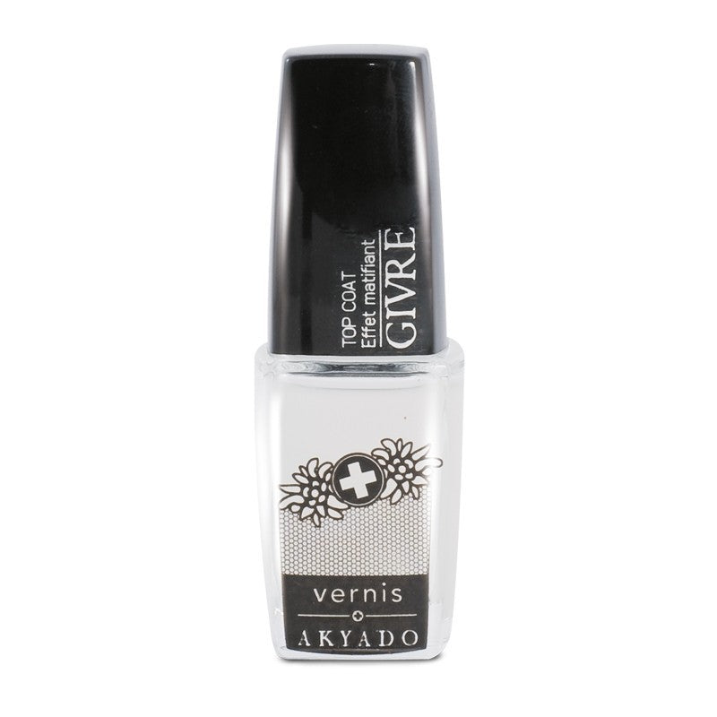 Vernis Givré - Top Coat - Mat look 10 ml - Crazy Beauty Shop