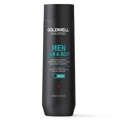 Dualsenses Men Hair & Body Shampoo 100ml - Crazy Beauty Shop