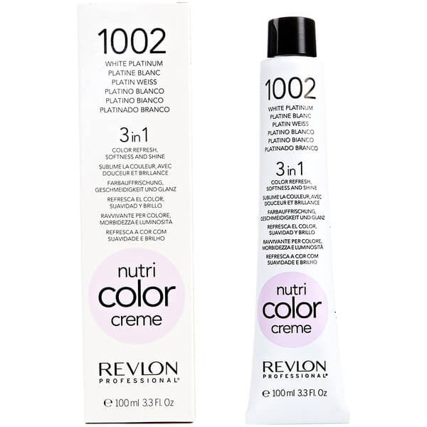 CREME 1002 WHITE PLATINUM 100ML - Crazy Beauty Shop