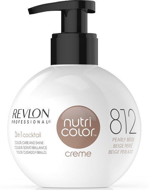 CREME 812 PEARLY BEIGE 270ML - Crazy Beauty Shop