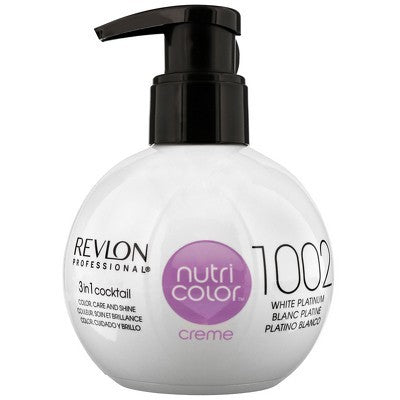 CREME 1002 WHITE PLATINUM 270ML - Crazy Beauty Shop