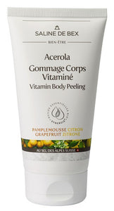 Gommage Corps Vitaminé 150ml - Acerola Pamplemousse Citron - Crazy Beauty Shop