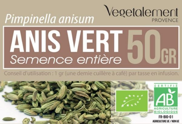 Anis Vert Bio 50gr. - Crazy Beauty Shop