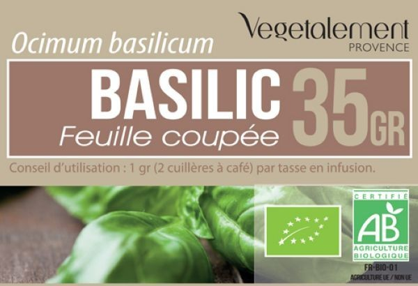 Basilic BIO 35 GR - Crazy Beauty Shop