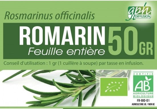 Romarin BIO 50 GR - Crazy Beauty Shop