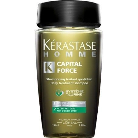 Shampooing Capital Force Anti-Gras 250ml - Crazy Beauty Shop