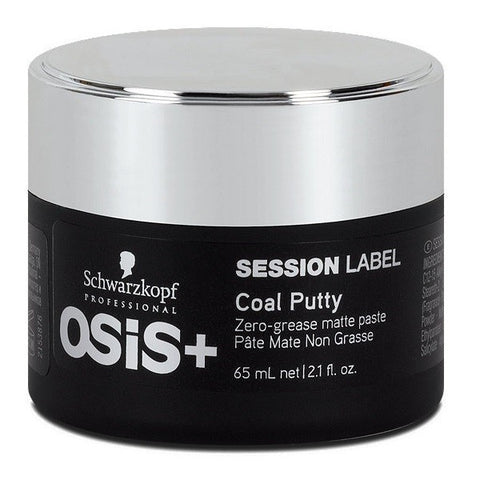OSIS + Session Label Coal Putty 65ml - Crazy Beauty Shop