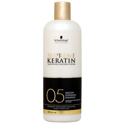 Supreme Keratin Shampoo Nr 5 300ml - Crazy Beauty Shop