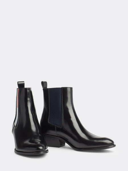 BOTTINES COWBOY EN CUIR