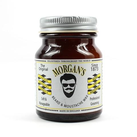 MOUSTACHE & BEARD WAX  50ML - Crazy Beauty Shop