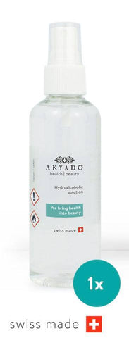 HYDROALOHOLIC SOLUTION 100 ML - Crazy Beauty Shop